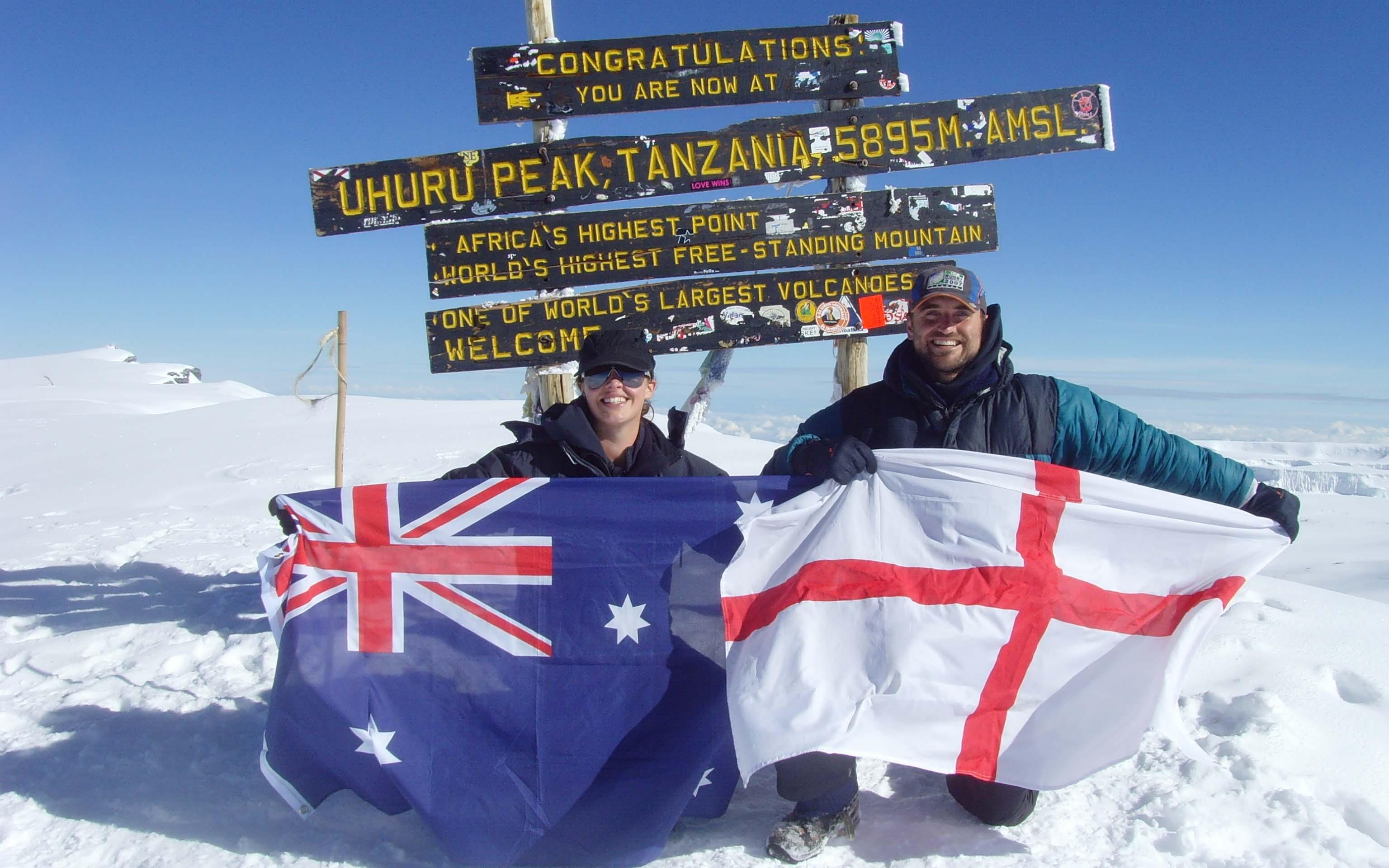 Jamie Wansey - Mount Kilimanjaro in Tanzania