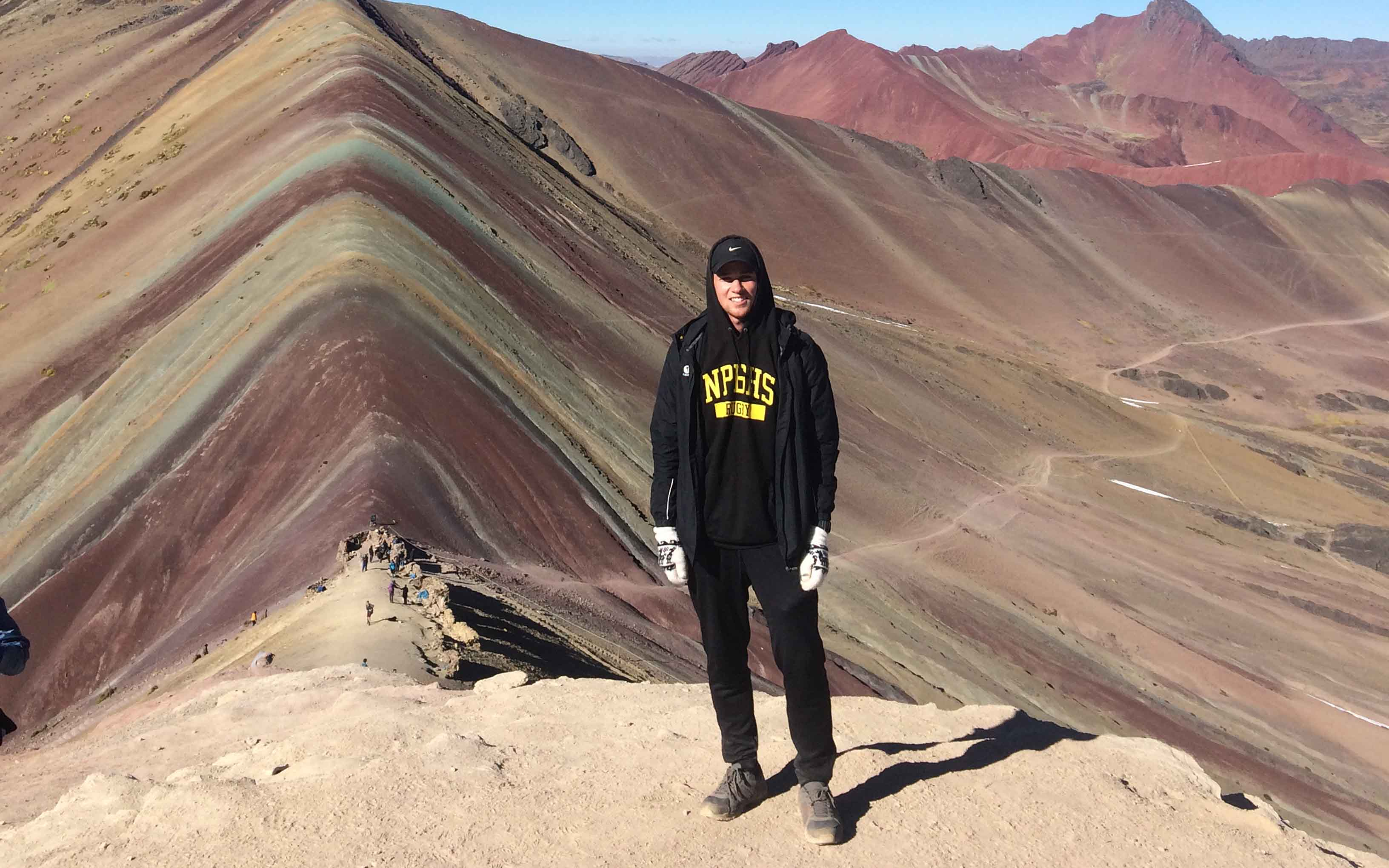 Theo Betteridge in Peru
