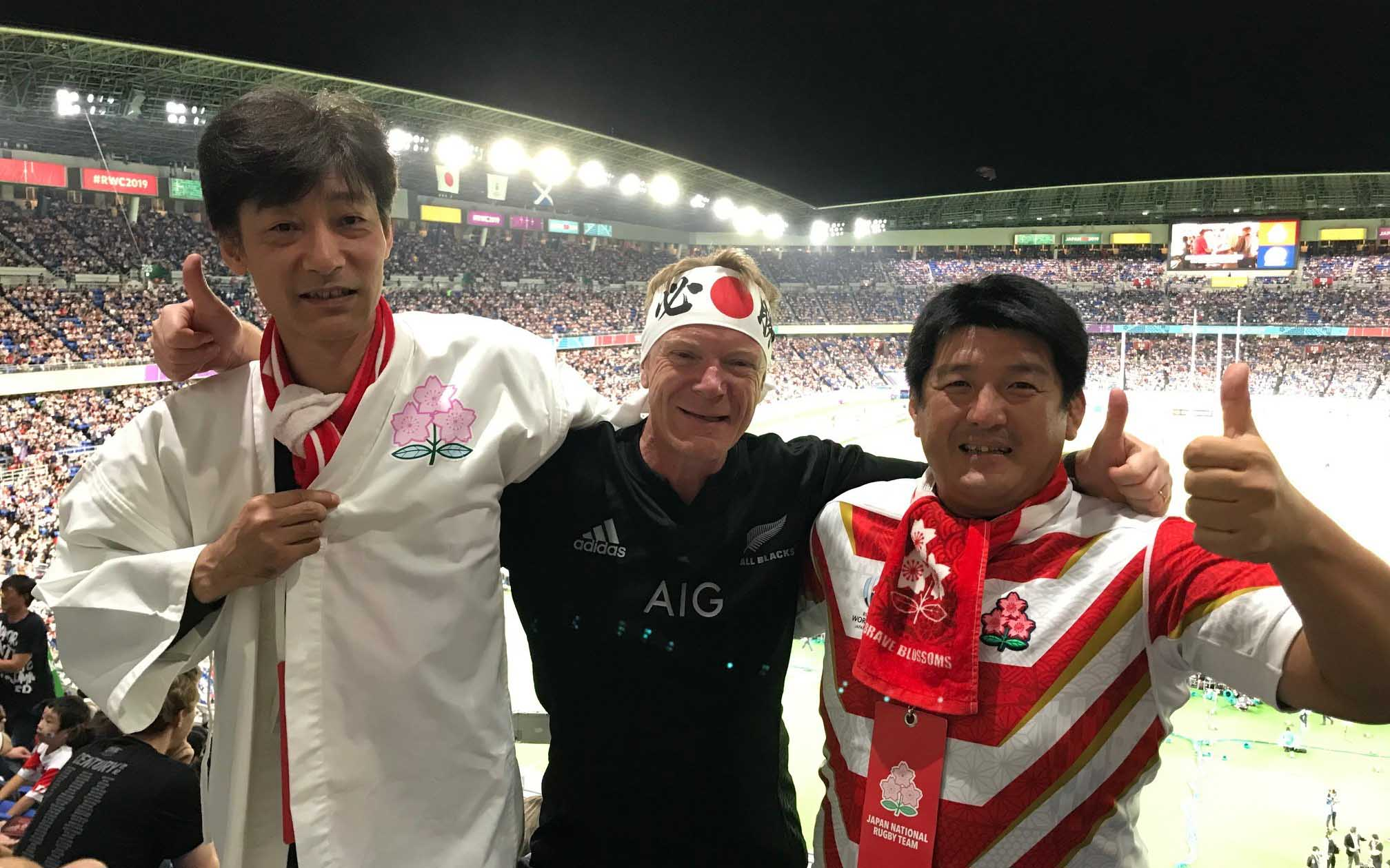 Steve Caunce - Rugby World Cup in Japan