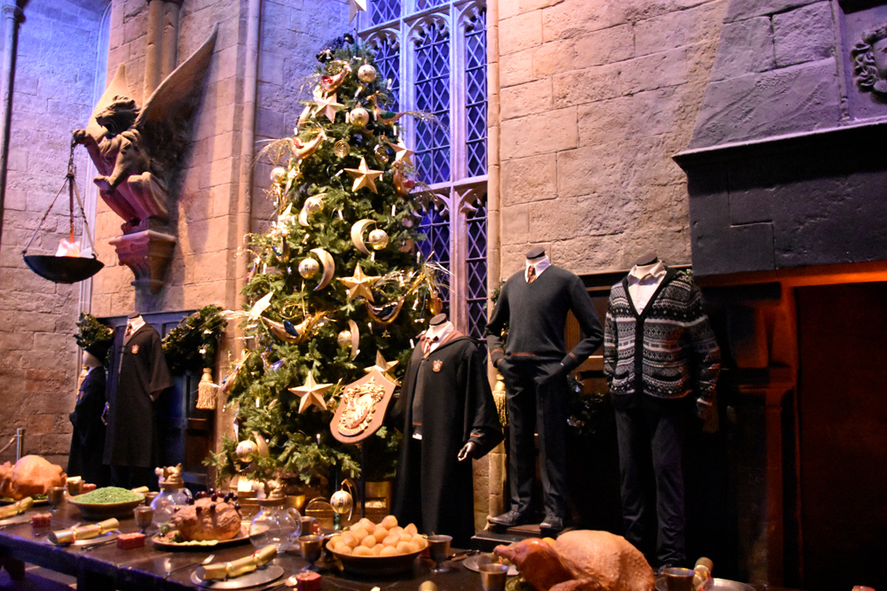 School Tour Harry Potter - Best places to go for Christmas